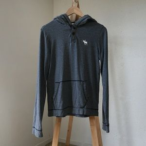 2555ce84 Abercrombie & Fitch Shirts | Abercrombie Fitch Grey Chief Hoodie ...